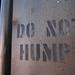 0504 120912 Be Not Humpy