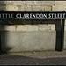 Little Clarendon Street street sign