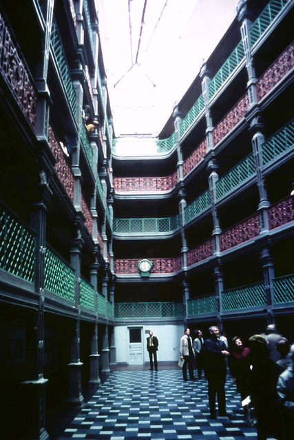 Inside Liverpool Sailor's Home (Demolished) From a c1970 slide