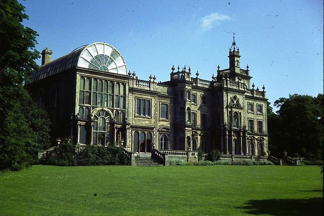 Flintham Hall, Nottinghamshire (from a 1970s slide)
