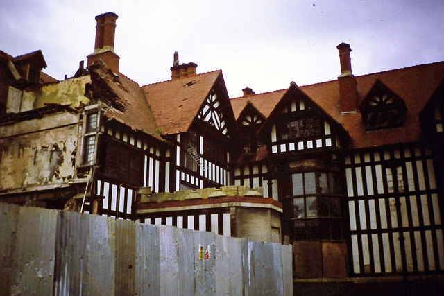 Greaves Hall, Southport, Merseyside (Demolished)