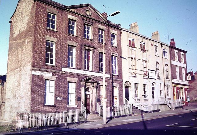 Upper Parliament Street, Liverpool from a 1980s slide