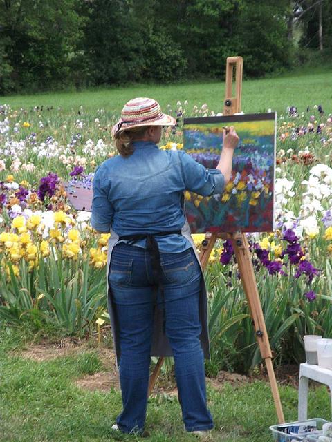 Jardin des Iris,