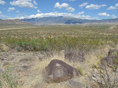Nice spot for a bullseye petroglyph.