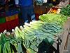 Spring onions, leeks, celery, silver beet