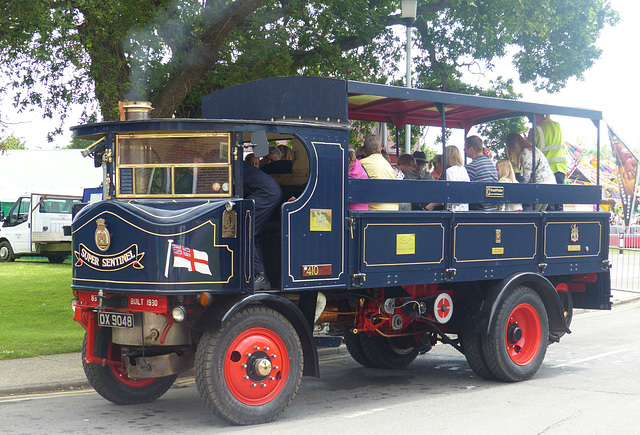 Super Sentinel Steam Lorry (1) - 31 May 2014