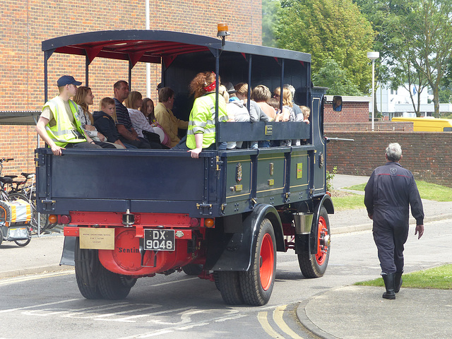 Super Sentinel Steam Lorry (2) - 31 May 2014
