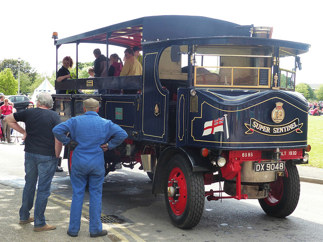 Super Sentinel Steam Lorry (3) - 31 May 2014