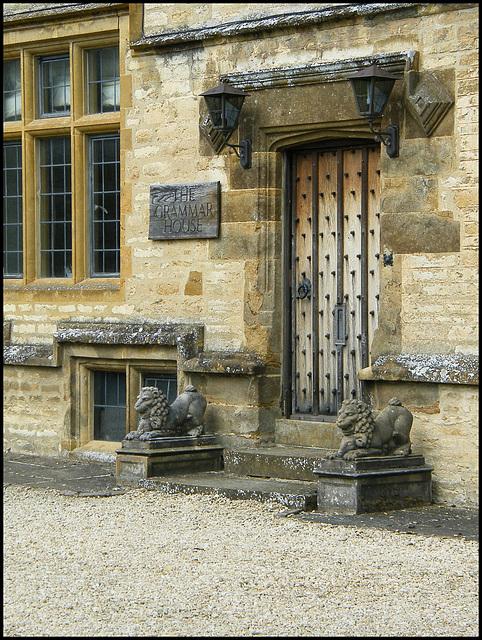 old school door