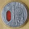Niue Island crystal coin.