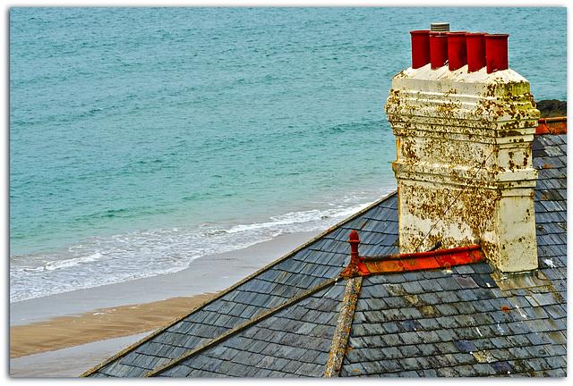 Dach in Devon (U.K.)