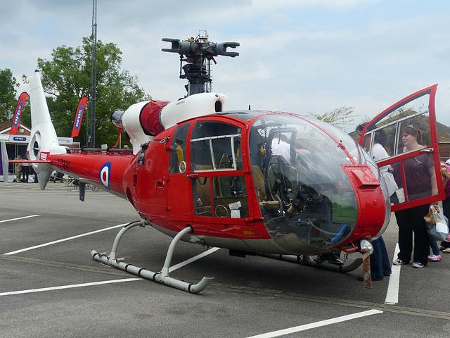 RAF Gazelle XZ930 - 31 May 2014