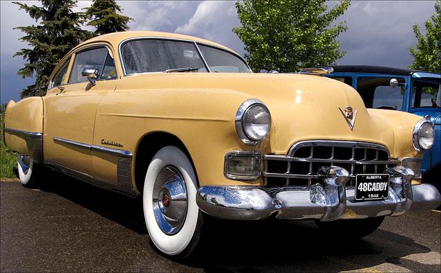 1948 Cadillac Model 62 Fastback Sedanette 02 20140607
