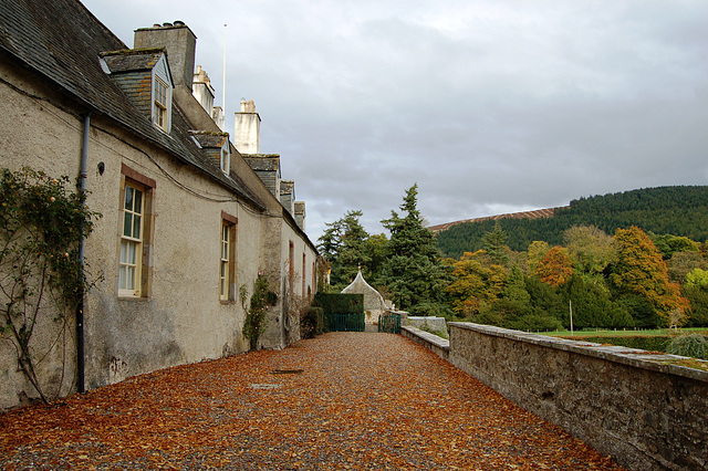Traquir House, Borders, Scotland