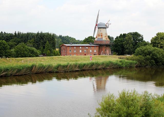 Alte Mühle an der Oste
