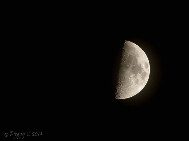.. part of the moon