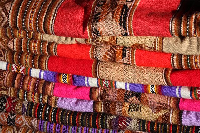 Peruvian woolens