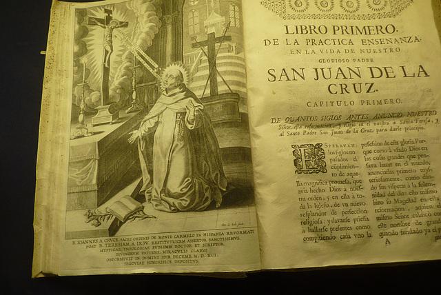 Úbeda-Visto en el Museo de San Juan de la Cruz