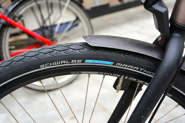 New bicycle tyres