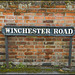 Winchester Road street sign