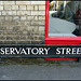 Observatory Street sign
