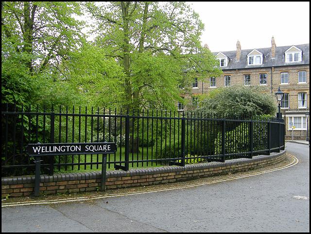 Wellington Square, Oxford