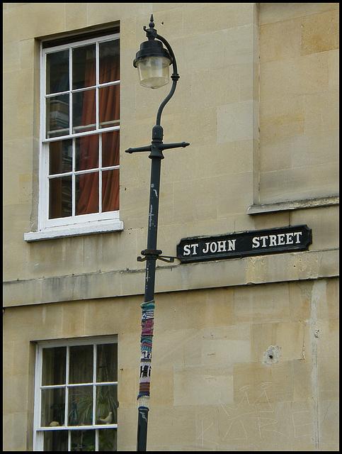 St John Street lamp