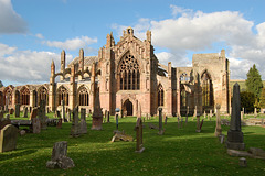 Melrose Abbey, Borders, Scotland