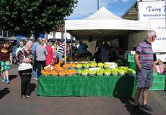 Fruit 'n Veg stall, Chichester Market