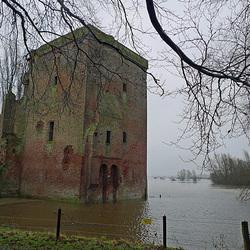 Nederland - Voorst, Kasteel Nijenbeek
