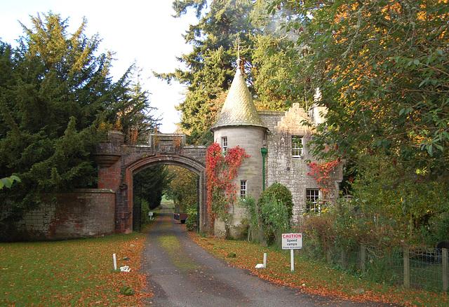 Lodge House, 'The Glen', Borders, Scotland