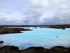 Le Lagon Bleu, Bláa lónið