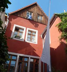 Pirna - kleinstes Cafe mit Idylle im Hinterhof