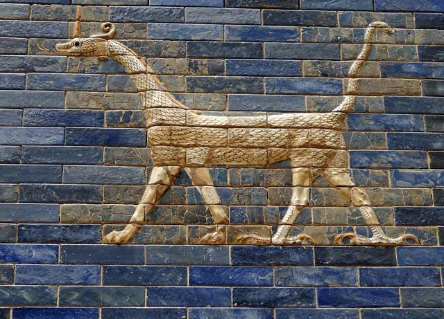 Pergamon museum detail