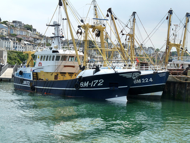 Brixham Harbour- Fishing Boats