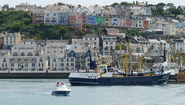 Leaving Brixham