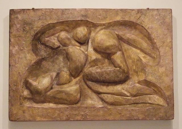 Lovers by Duchamp-Villon in the Philadelphia Museum of Art, August 2009