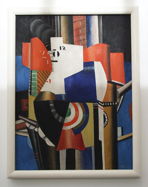 The City by Leger in the Philadelphia Museum of Art, January 2012
