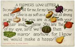 A Farmer's Love Letter