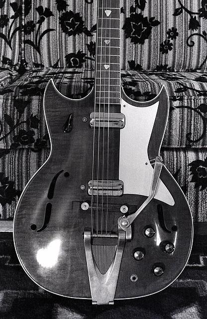 Truetone Double Cutaway Electric Guitar