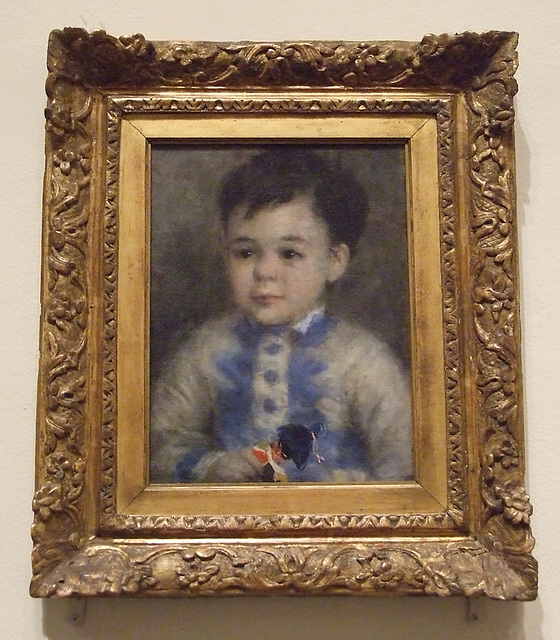Boy with a Toy Soldier by Renoir in the Philadelphia Museum of Art, August 2009