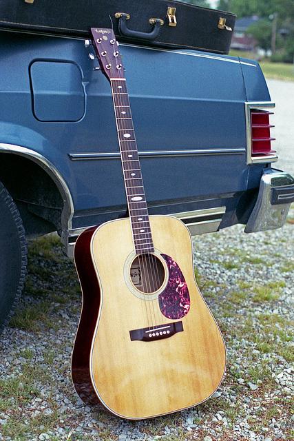 Lotus Acoustic Guitar