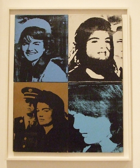 Jackie by Andy Warhol in the Philadelphia Museum of Art, January 2012