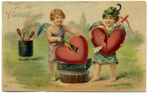 Cupids Mending Hearts