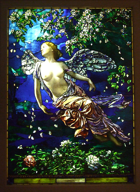 Spring by LaFarge in the Philadelphia Museum of Art, August 2009