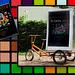 Ruskin 2014 degree show - advertising trike - Oxford - 25.6.2014