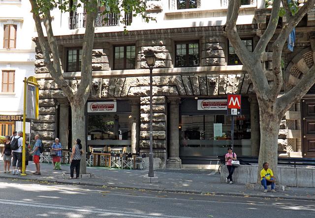 Eataly Hamburger Restaurant in Rome, June 2014
