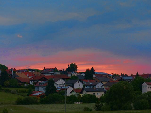 Evening at Neukirchen bei Heiligenblut