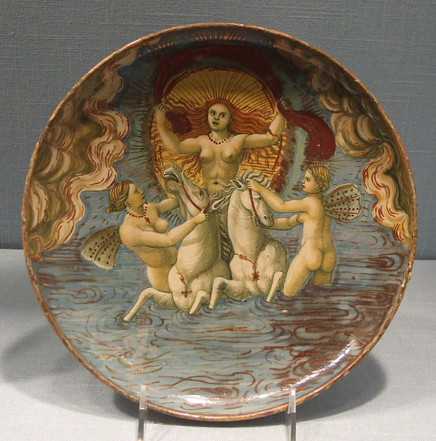 Dish with Aurora in the Metropolitan Museum of Art, March 2011