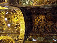 Contrasting ceilings
